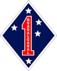 1st Marine Division Color 1 Logo
