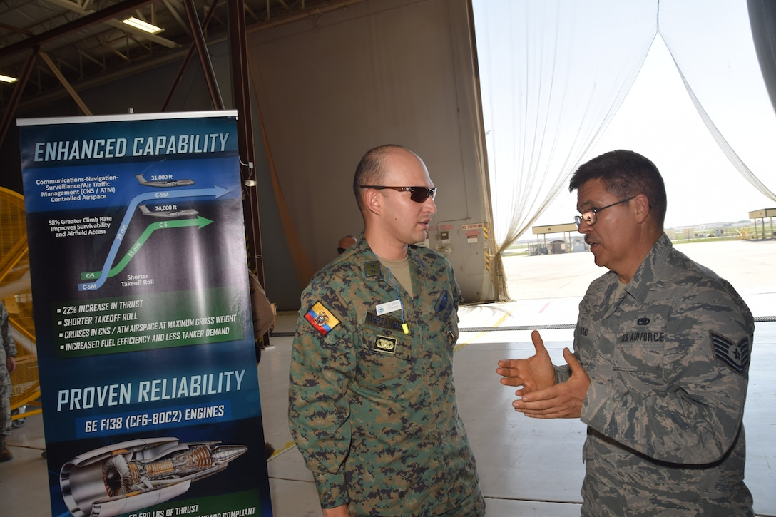 "IAAFA continues decades old tradition with ""Alamo Wing"" visit"