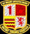 1st Marine Logistics Group Color 3 Logo