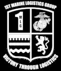 1st Marine Logistics Group Color B-W Logo