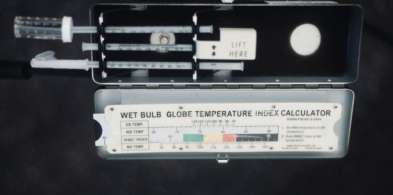 Raise the Flag: Bioenvironmental Engineering Flight Monitors Heat Conditions