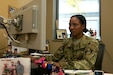 Spc. Monique Easy, a Saint Catherine, Jamaica, native and tactical power generator specialist with the 321st Expeditionary Military Intelligence Battalion, is a proud team player within America's Army Reserve.