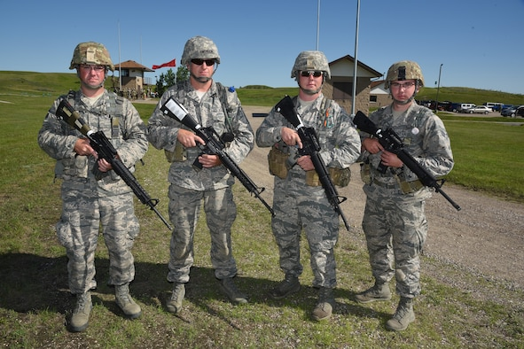 "119th Wing marksmanship ""A"" team"