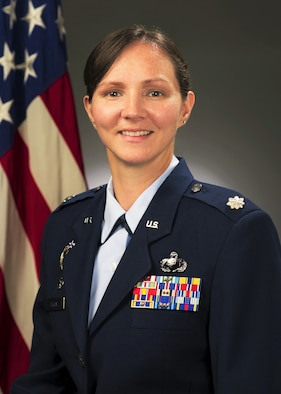 Lt. Col. Katrina Curtis, 60th Contracting Squadron, official photo