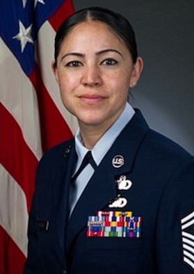 Senior Master Sgt. Kimberly La'Pierre, official photo, U.S. Air Force photo