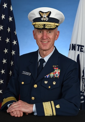 Photo of Rear Admiral Steven Andersen