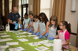 4H hosts STEM camp for military children