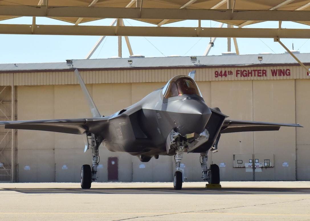 After a year of preparation and instruction through the 944th Operations Group Detachment 2, Lockheed Martin and their active duty team members at the 56th Fighter Wing, Maj. Kiyun Jung, ROKAF F-35A pilot, flew his first solo mission.
