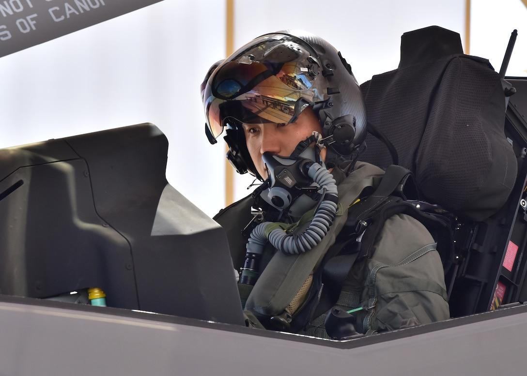 Republic Of Korea Air Force F-35A Pilot Takes First Flight