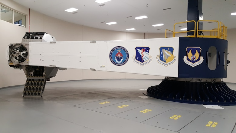 The United States Air Force School of Aerospace Medicine Human Rated Centrifuge at Wright-Patterson Air Force Base is the only one owned by the Department of Defense. (Courtesy photo)