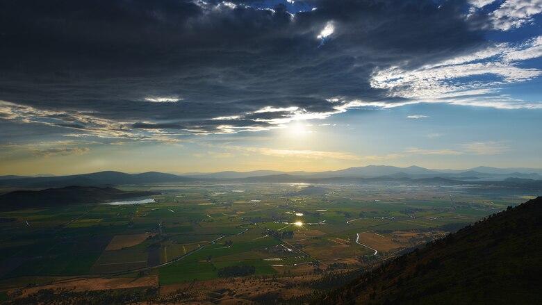 View of Klamath Basin