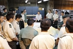 Yokosuka distribution center hosts training event for Japan Maritime Self-Defense Force officers