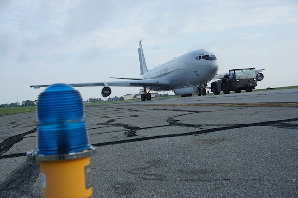 Warner Robins Air Logistics Center takes on first E-8C Joint STARS depot maintenance