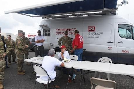 U.S. Virgin Islands recovery operations.