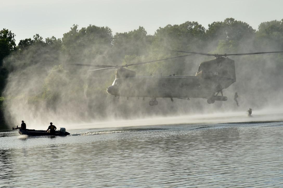 River Assault 2018 brings services together