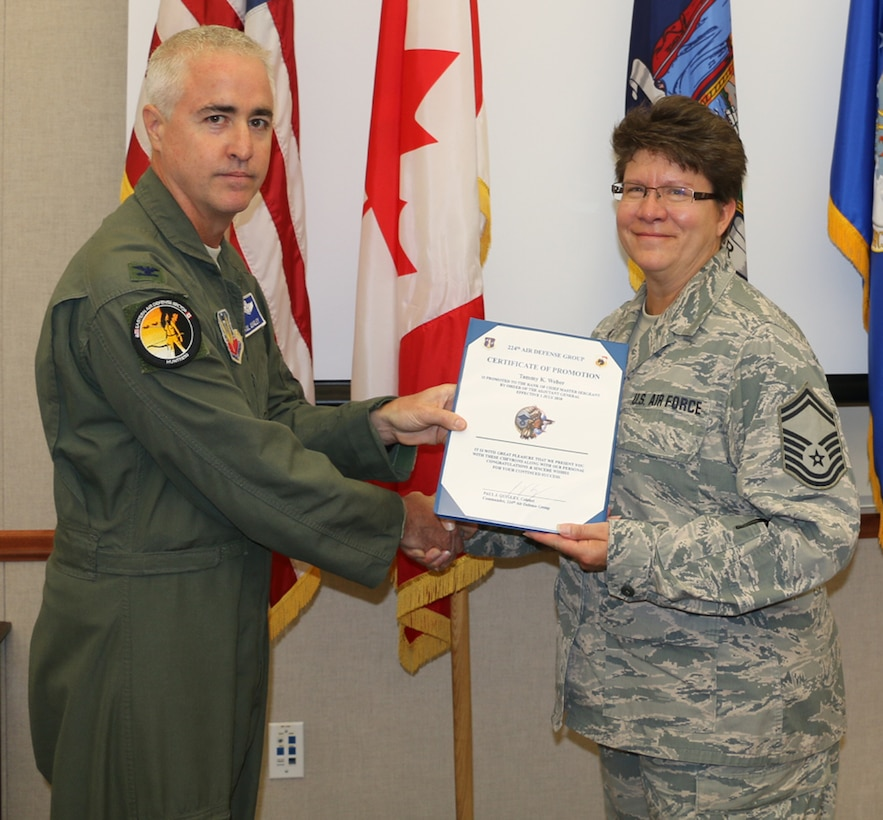 Weber Promoted to Chief