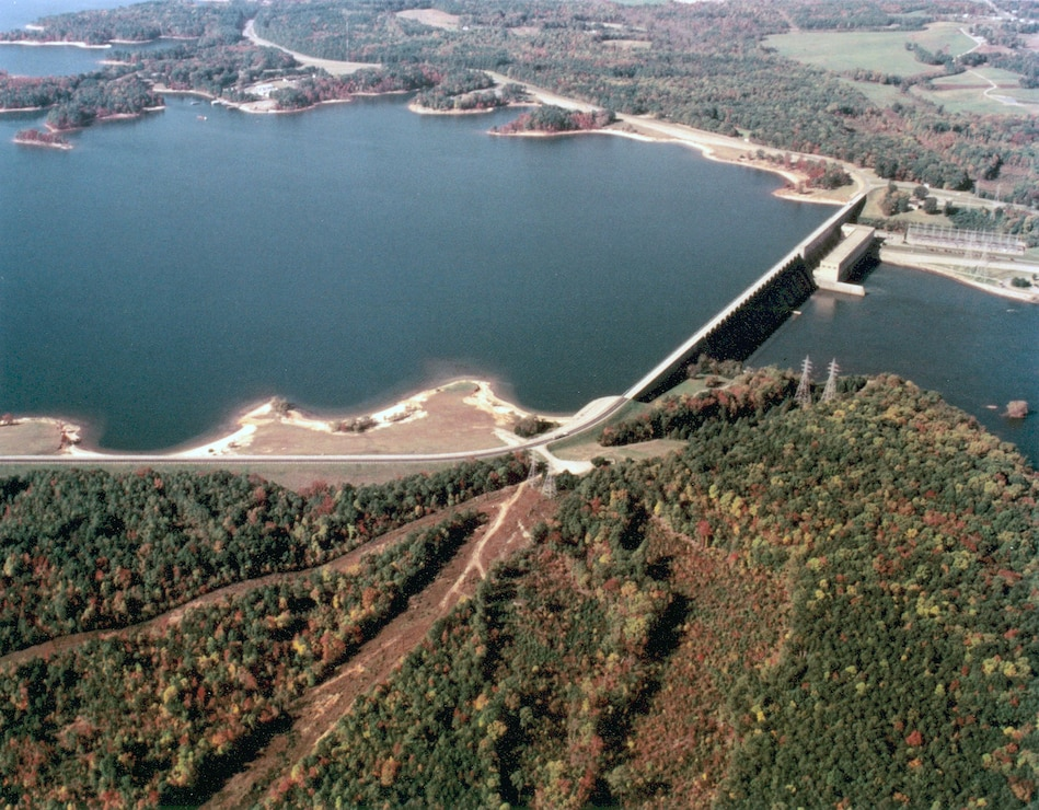 John H. Kerr Dam and Reservoir.