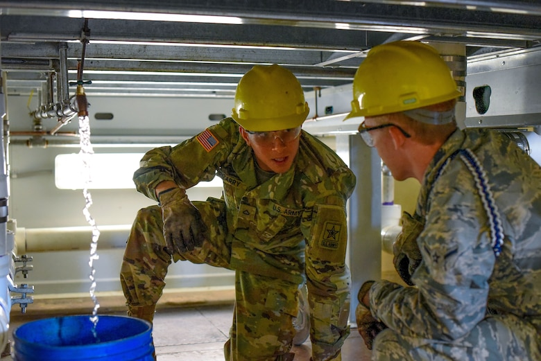 Water and Fuels Systems Maintenance training at Sheppard AFB
