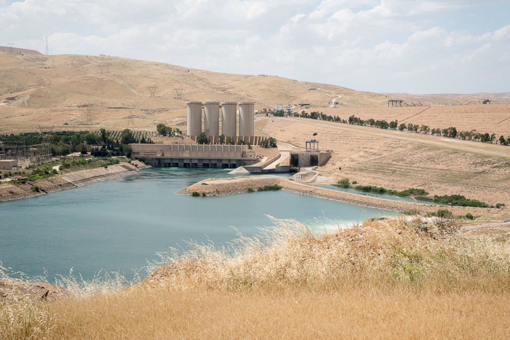 The Governments of Iraq, Italy, and the U.S. have combined their efforts to stabilize Mosul Dam, the largest earthen dam in Iraq and the fourth largest in the Middle East. The dam provides water supply, irrigation, flood control, and hydro-power for the people of Iraq along the Tigris River Valley.