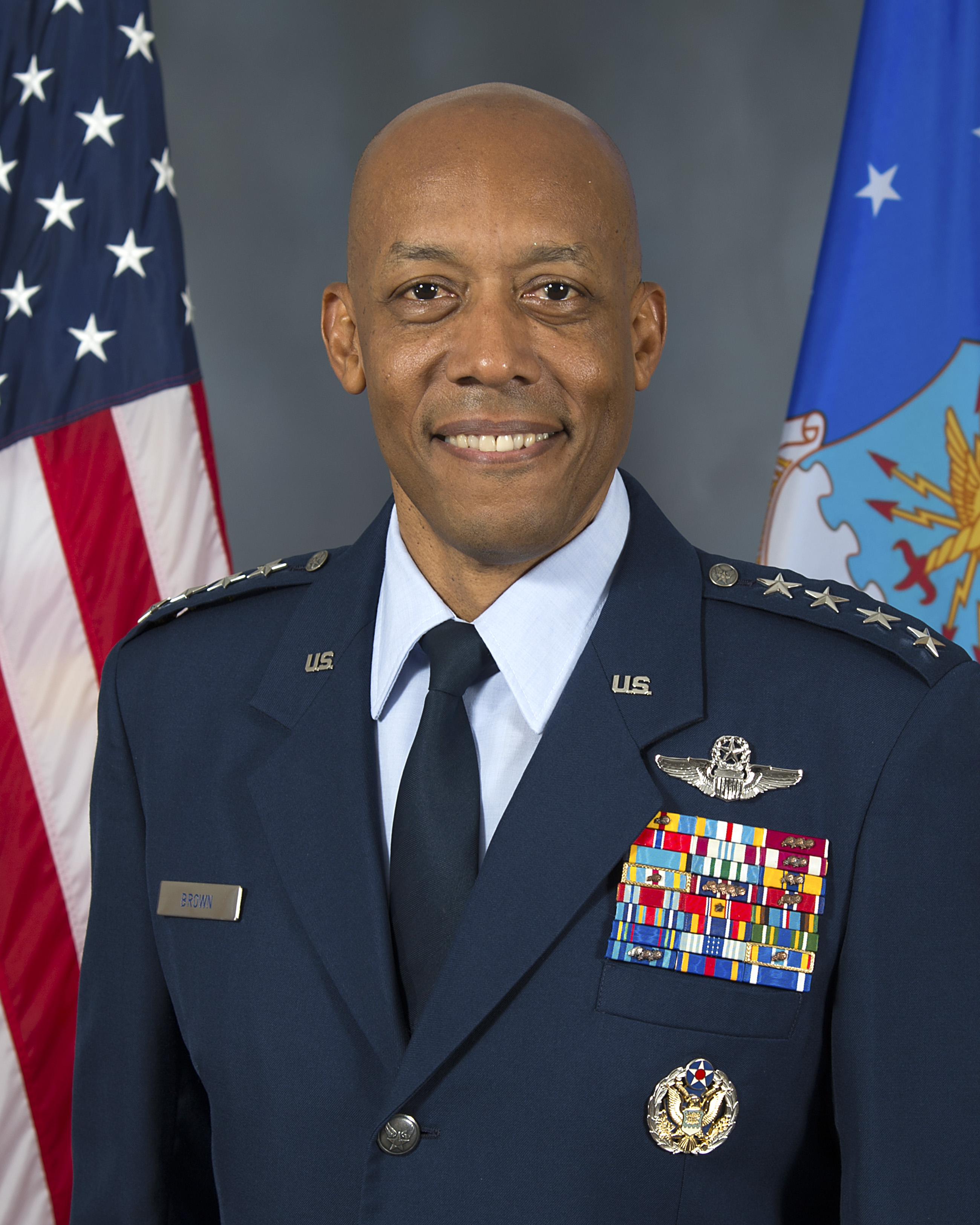 GENERAL CHARLES Q. BROWN JR. > U.S. Air Force > Biography Display