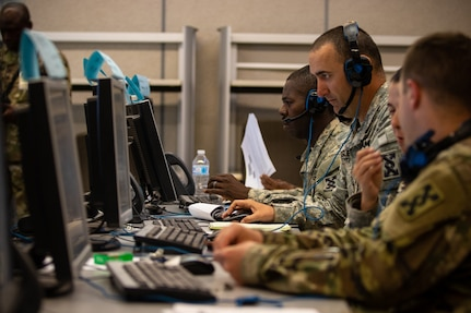 War games mean serious work for Army Reserve