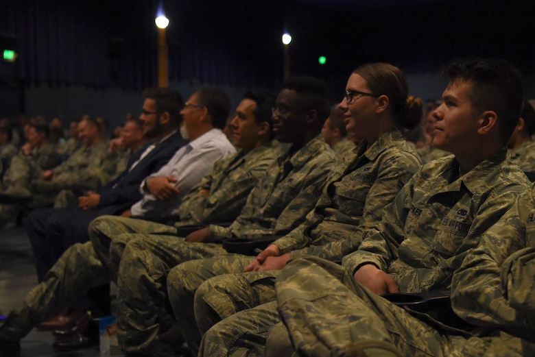 Petry visited Alaska to speak with service members at both Fort Wainwright and Eielson.