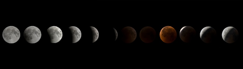 Blood Moon lunar Eclipse 2018