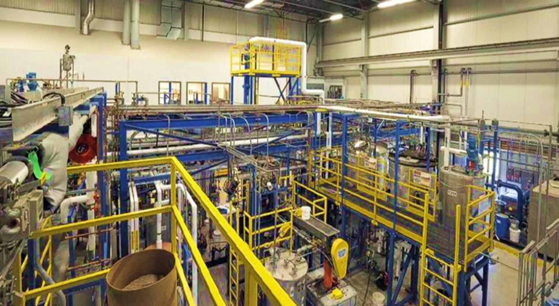 University of Maine's Biomass to Bio-products Pilot Plant
