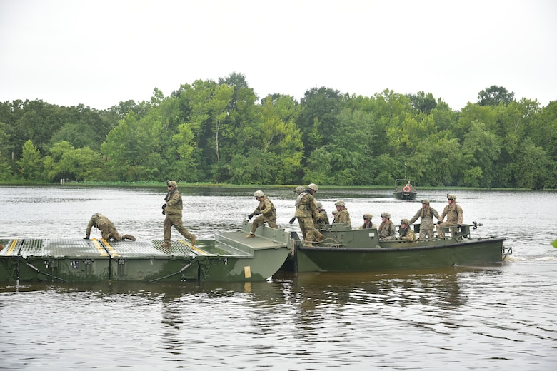 Reserve Engineers get back to basics during River Assault