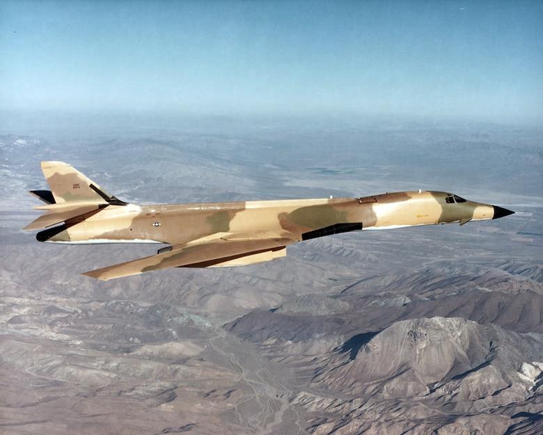 B-1 Lancer in 1980 at Edwards AFB