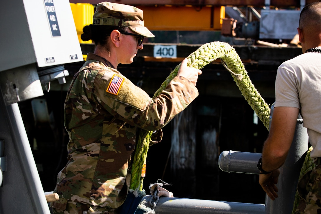 You Call, We Haul: Army Reserve Watercraft Operators