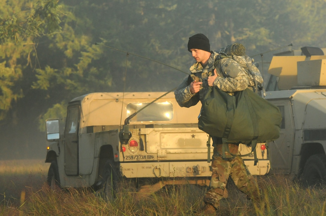 Task Force Raptor Soldiers Begin Exercise Always Engaged