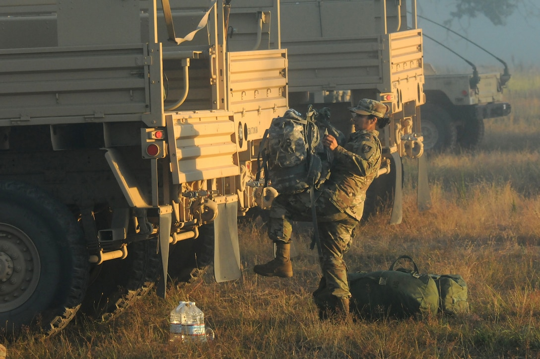 Task Force Raptor Soldiers Begin Exercise Always Engaged