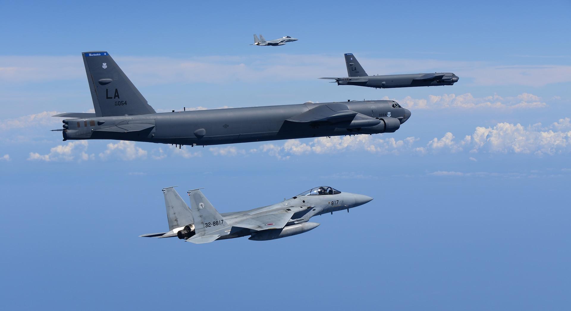 US, Japan bomber-fighter integration training showcases strength of alliance