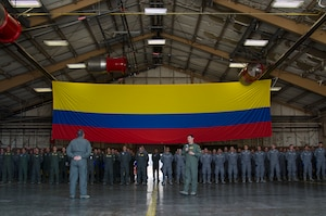 Colombian Air Force participates in Red Flag 18-3