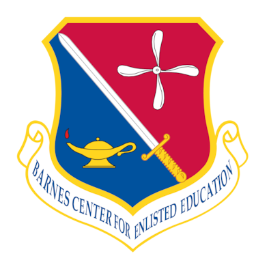 Thomas N. Barnes Center for Enlisted Education unit emblem
