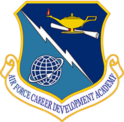 Air Force Career Development Academy emblem