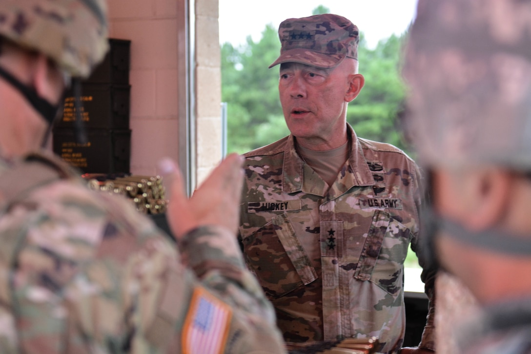 LTG Luckey at Cold Steel II