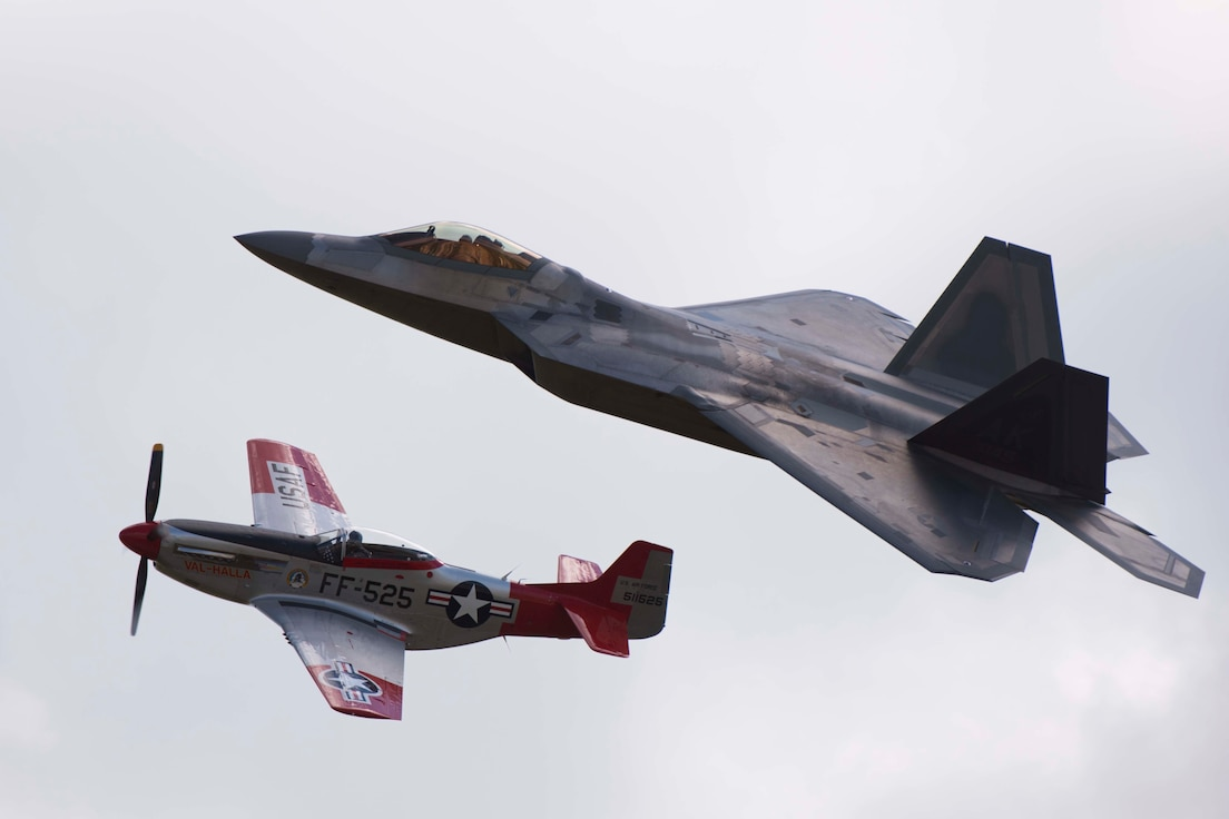Red Tails Over Montgomery Air Show, Sept. 8, 2018