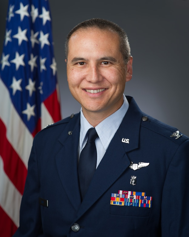 Col. Justin Nast, U.S. Air Force, official photo