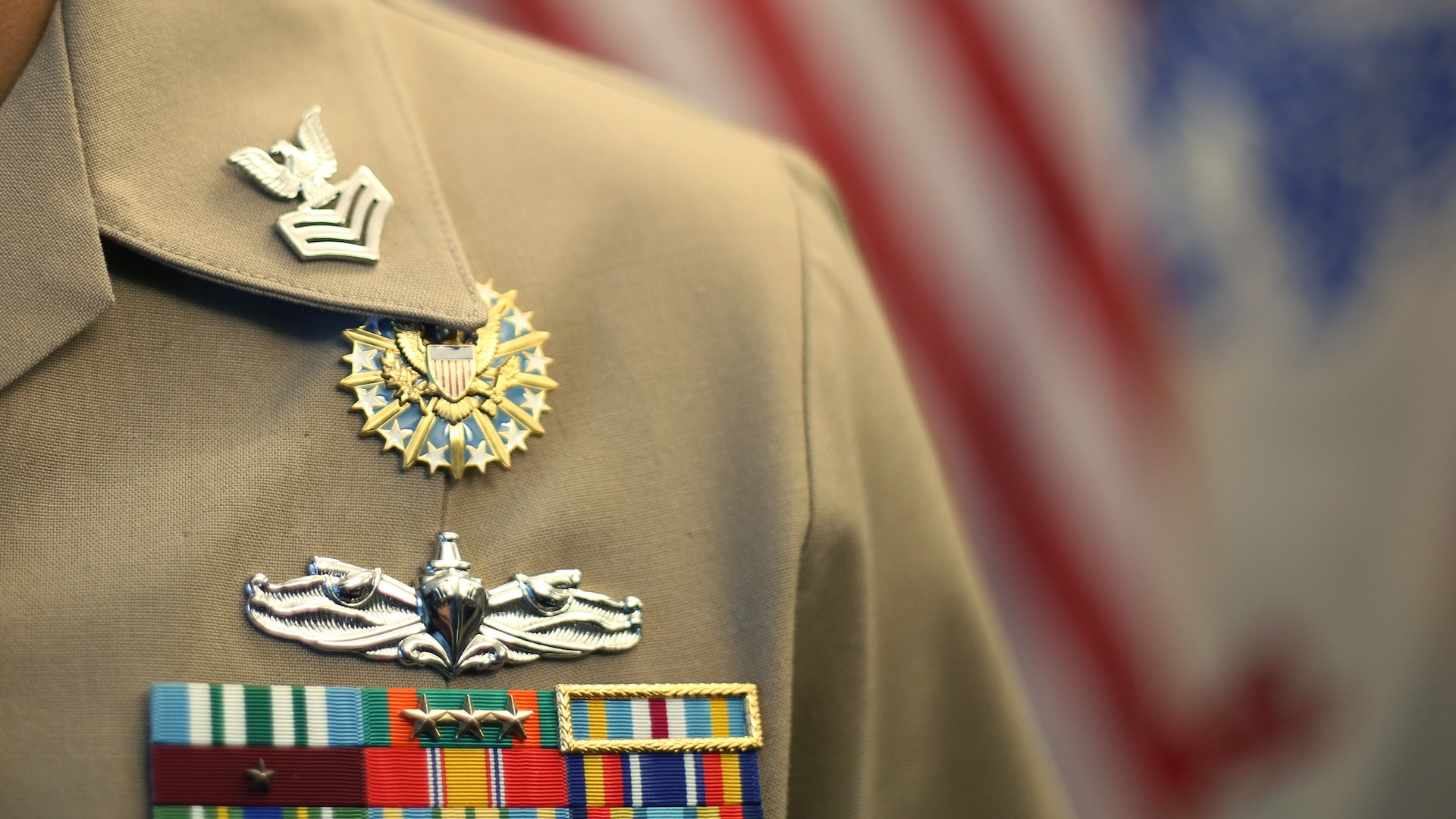 An approved duty badge is now available for Defense Contract Management Agency military personnel to wear while assigned to the organization. The device is considered a temporary badge and is not intended to be worn upon termination of assignment to the agency. (DCMA photo by Elizabeth Szoke)