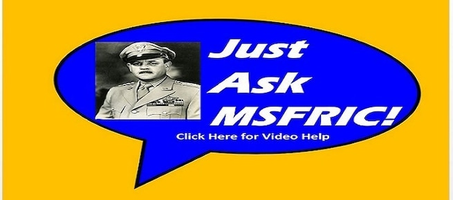MSFRIC Ask US Video Tutorial Link