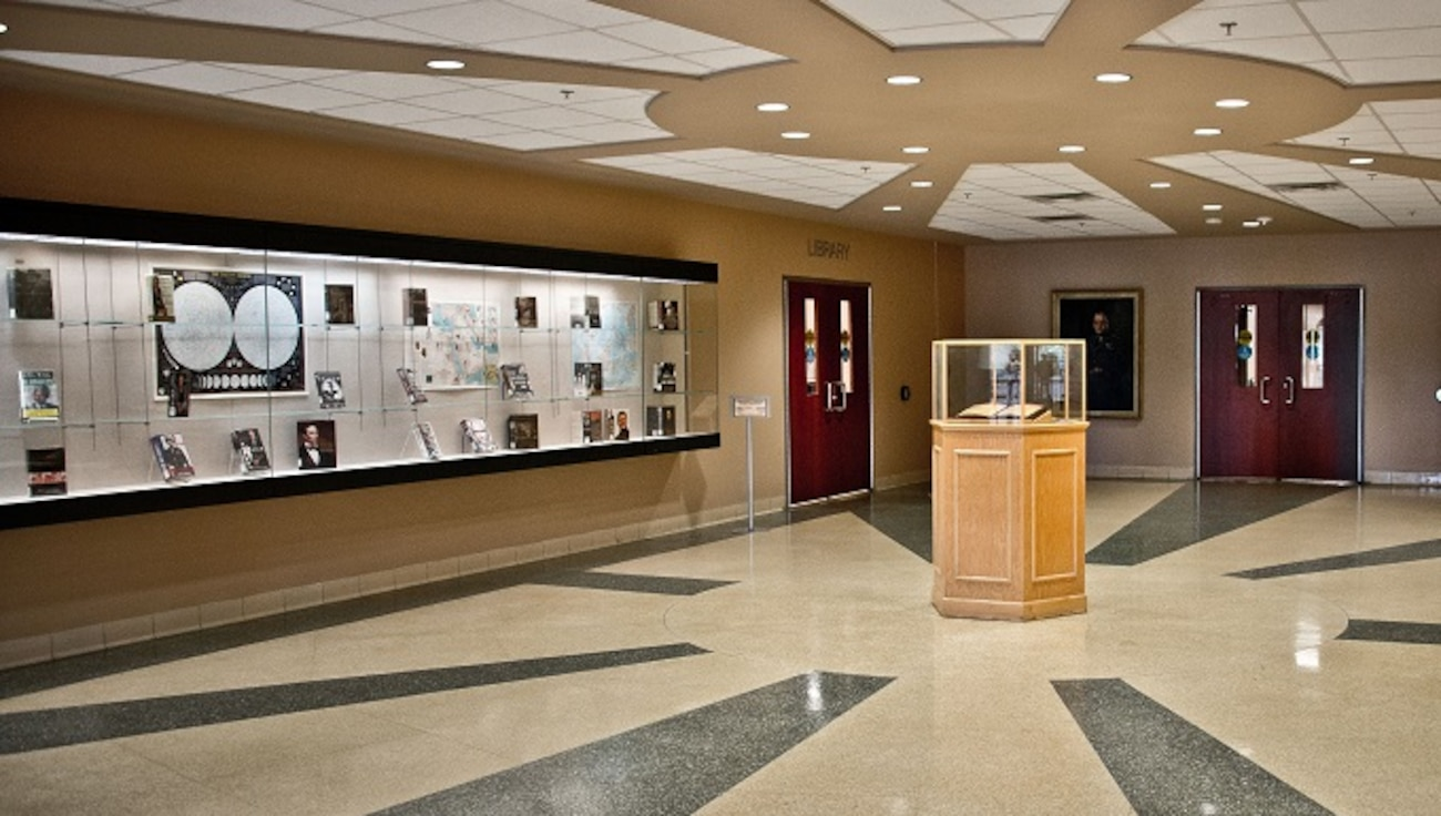 Photo of MSFRIC Library Lobby