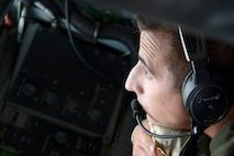The boom operator is responsible for safely and effectively refueling aircraft during flight.