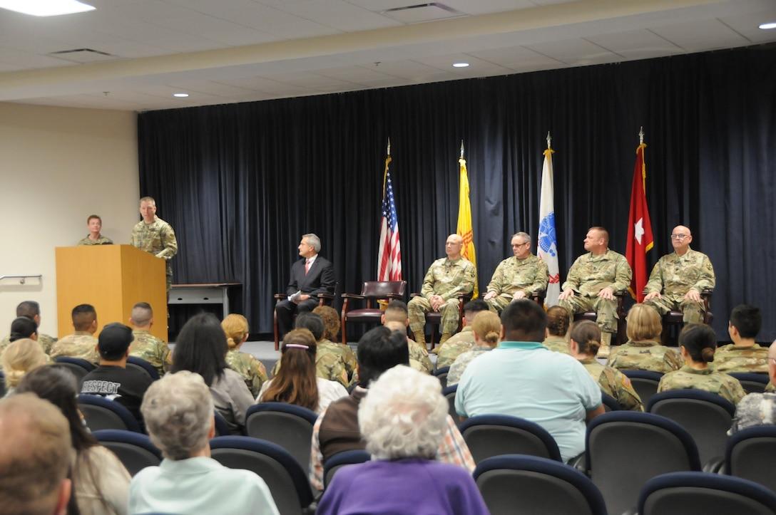 Albuquerque Army Reserve unit mobilizes for medical SRP mission