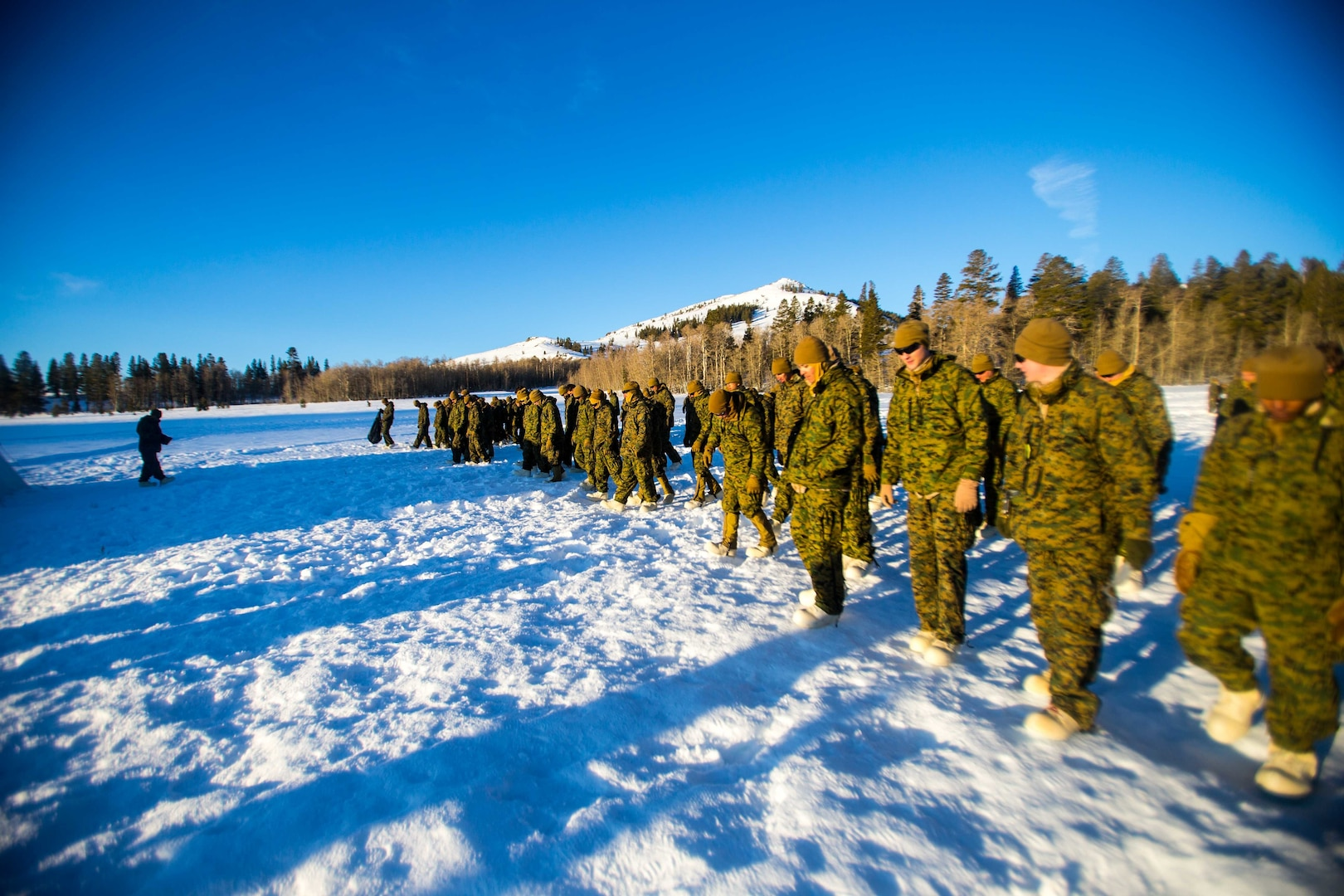 Corps to award sole source orders for cold weather boots and socks