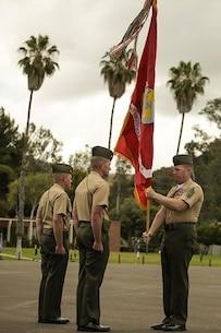 Change of Command Ceremony - Combat Logistics Battalion 15