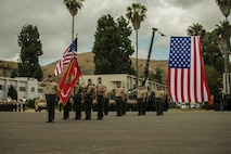 Change of Command Ceremony - Combat Logistics Battalion 15