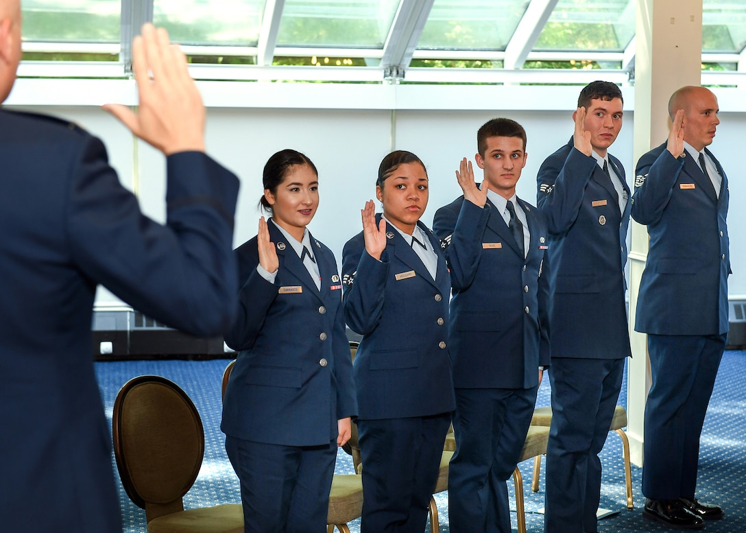 Enlisted Airmen promoted