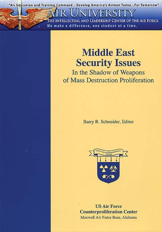 Book Cover - Middle East Security Issues
